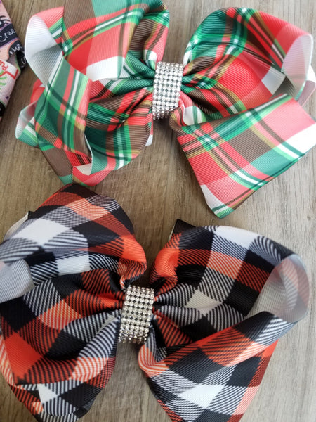 6x4 Inch Holiday Bows