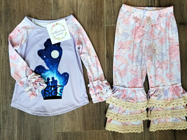 Girls Princess 2PC Set