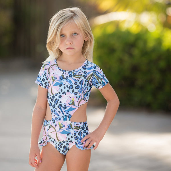 Blueberry Bay Royal Reef One Piece Swimsuit