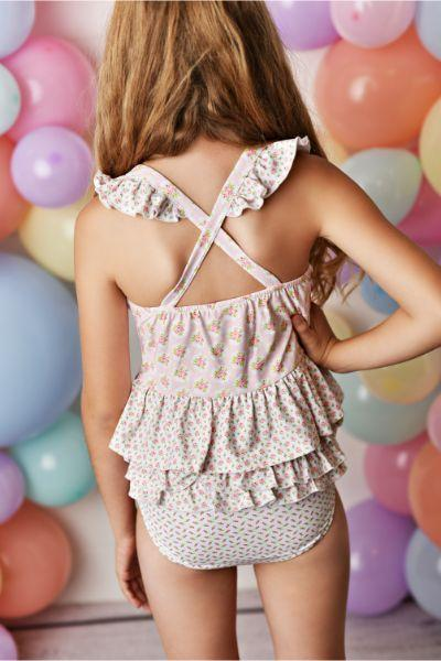 Swoon Baby Blush Petal Tunic 2 PC Swimsuit