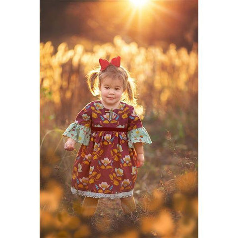 Haute Baby Mulberry Bloom Dress