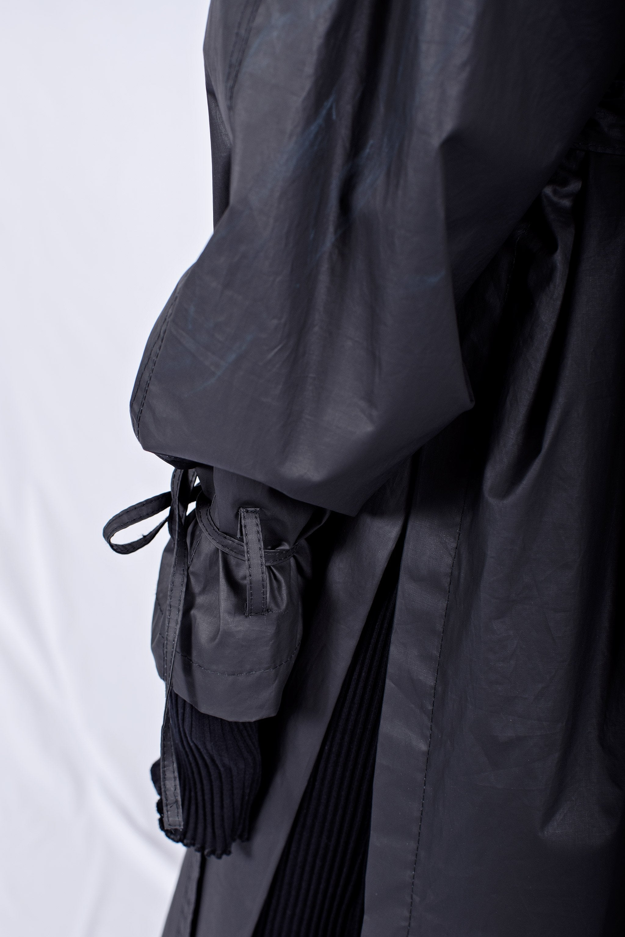 IMPERMEABLE ORDINARIO NEGRO