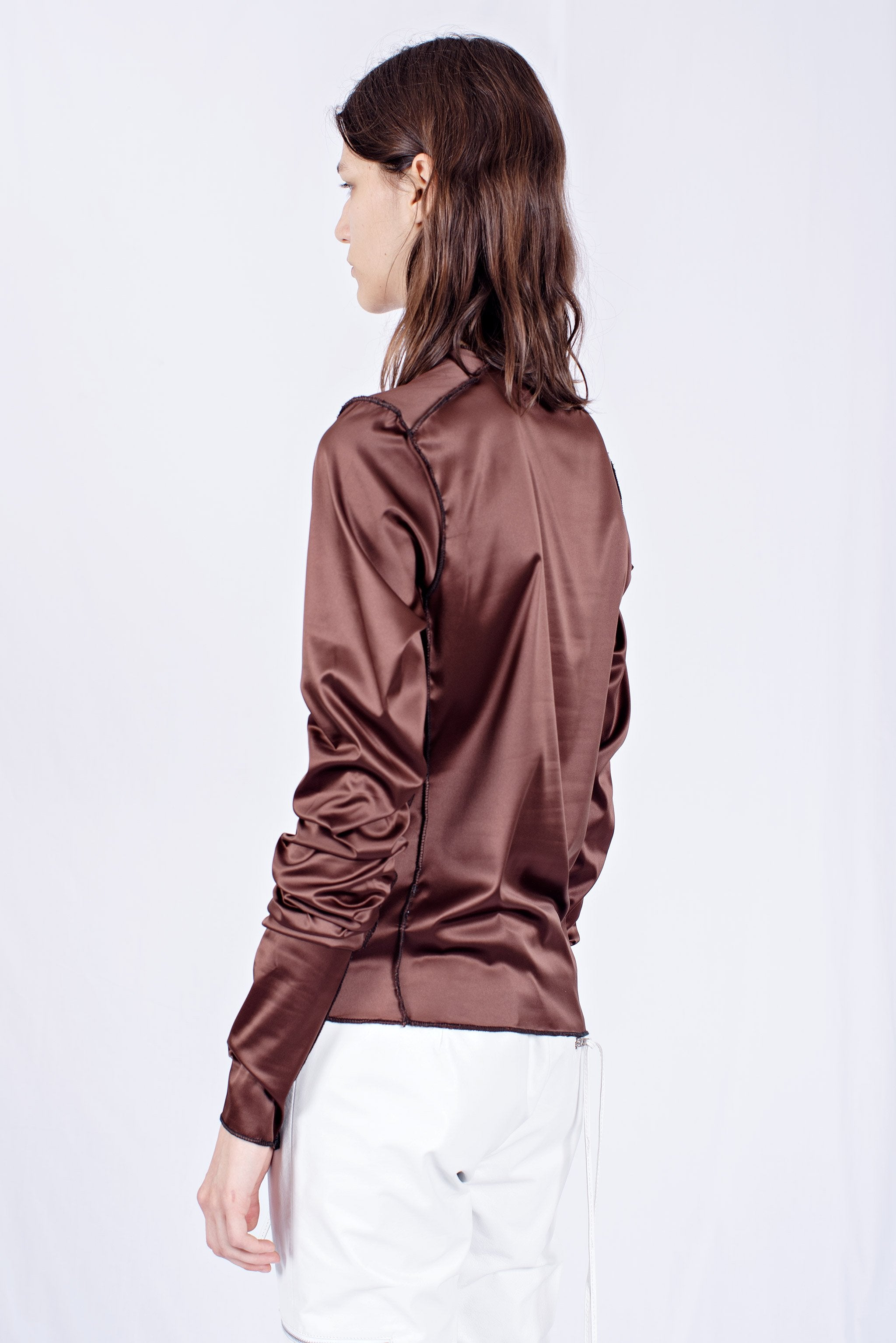 REMERA HOT MARRON