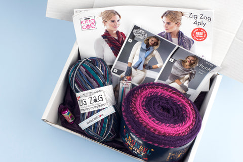 Ladies Knitting Subscription Box