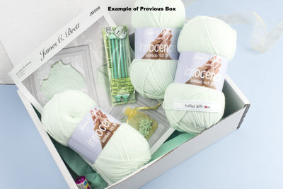 3 Month Baby-Boy Knitting Subscription (every two months) KNIT in a BOX