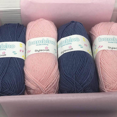 3 Month Children Girl Knitting Subscription (every 2nd month) KNIT in a BOX
