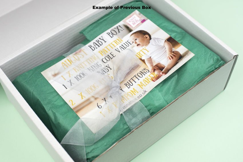 3 Month Children Knitting Subscription (every month) KNIT in a BOX