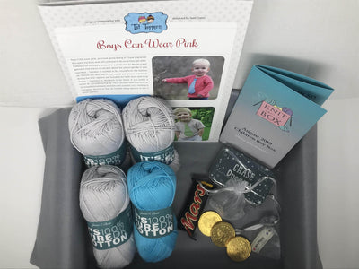 6 Month Children Knitting Subscription (every month) KNIT in a BOX