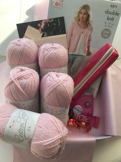 April 2020 Ladies Box On Sale Now! Buy Today Whilst Stocks Last! Knit in a Box Pink