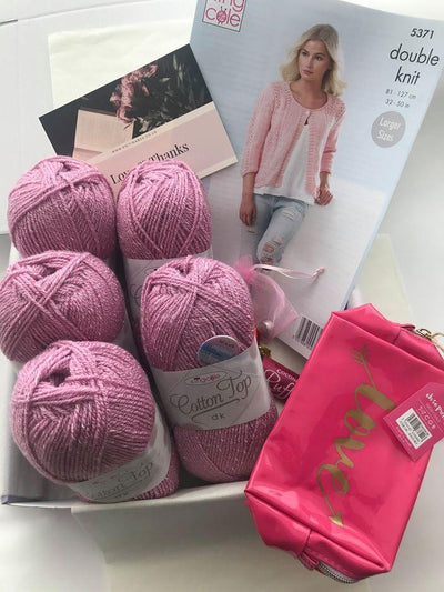 April 2020 Ladies Box On Sale Now! Buy Today Whilst Stocks Last! Knit in a Box Rose