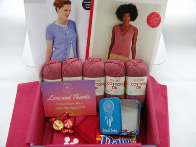 August 2020 Ladies Box On Sale Now! Knit in a Box