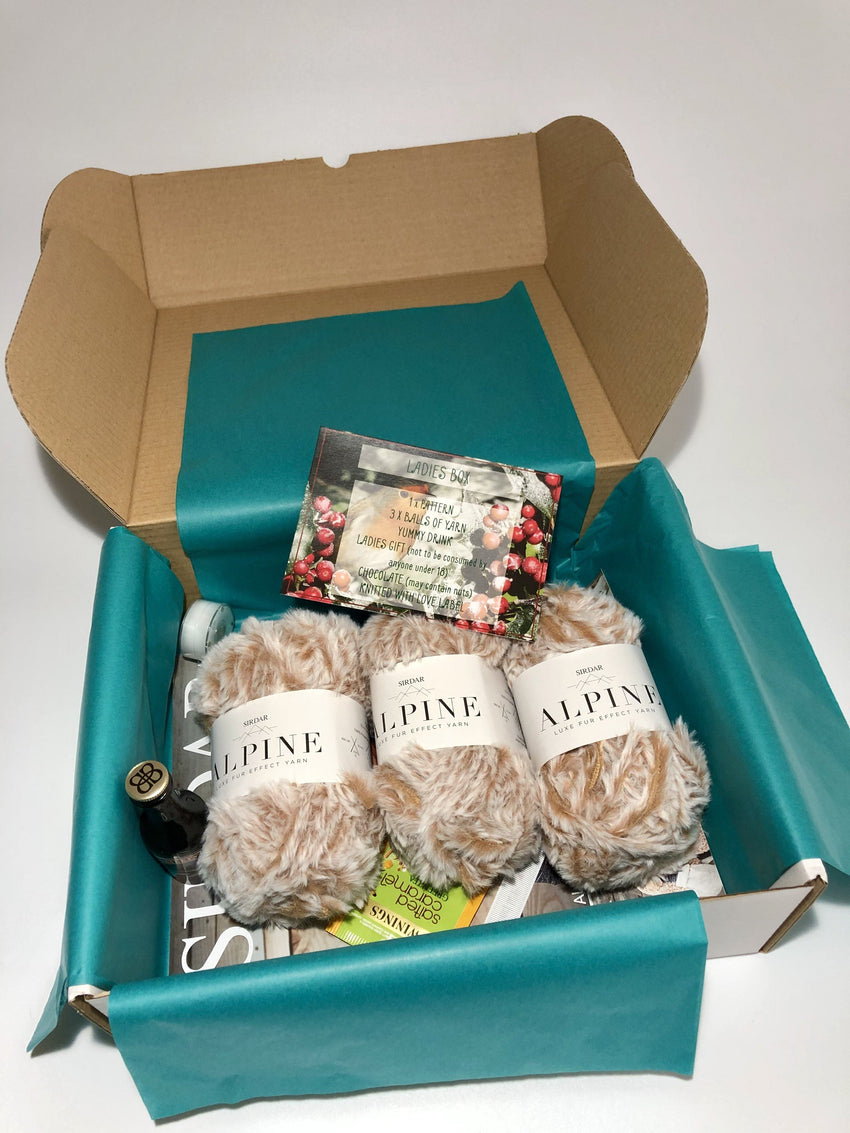 December 2018 Ladies Box On Sale Now! Buy Today Whilst Stock Lasts! Knit in a Box