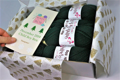 December 2019 Children Box On Sale Now! Buy Today Whilst Stocks Last! Knit in a Box