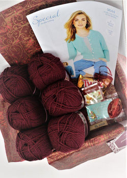 December 2019 Ladies Box On Sale Now! Buy Today Whilst Stocks Last! Knit in a Box