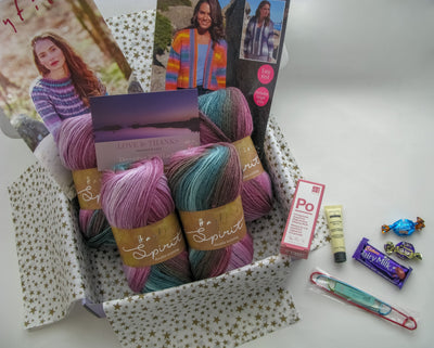 December 2020 Ladies Box On Sale Now! Knit in a Box