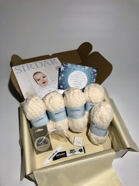 December Baby Box On Sale Now! Buy Today Whilst Stocks Last! Knit in a Box