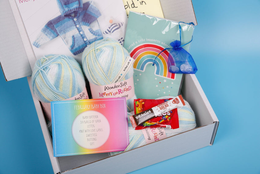 February 2019 Baby Box On Sale Now! Buy Today Whilst Stocks Last! Knit in a Box