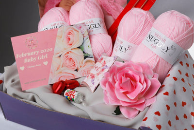 February 2020 Baby-Girl Box On Sale Now! Buy Today Whilst Stocks Last! Knit in a Box