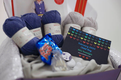 February 2020 Children-Boy Box On Sale Now! Buy Today Whilst Stocks Last! Knit in a Box