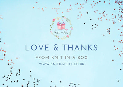 February 2020 Ladies Box On Sale Now! Buy Today Whilst Stocks Last! Knit in a Box