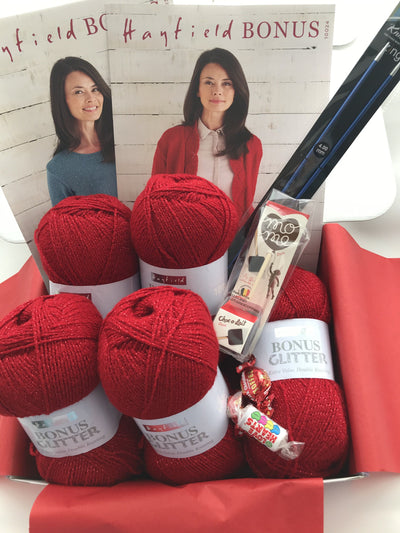 February 2020 Ladies Box On Sale Now! Buy Today Whilst Stocks Last! Knit in a Box Red