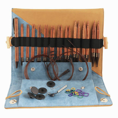 Ginger: KnitPro Interchangeable CIRCULAR Needle DELUXE SET Knit in a Box
