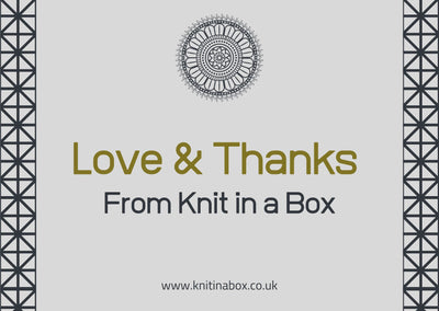January 2020 Ladies Box On Sale Now! Buy Today Whilst Stocks Last! Knit in a Box