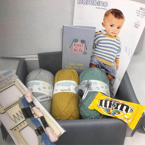July 2019 Baby Box On Sale Now! Buy Today Whilst Stocks Last! Knit in a Box