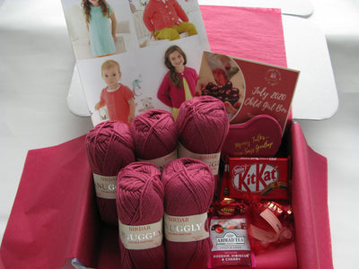July 2020 Child-Girl Box On Sale Now! Buy Today Whilst Stocks Last! Knit in a Box