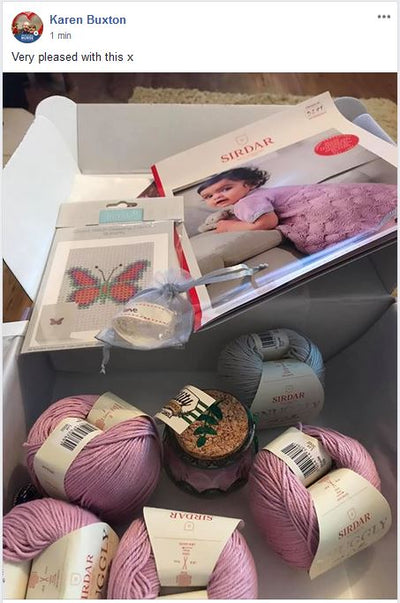 June 2020 Baby-Girl Box On Sale Now! Buy Today Whilst Stocks Last! Knit in a Box