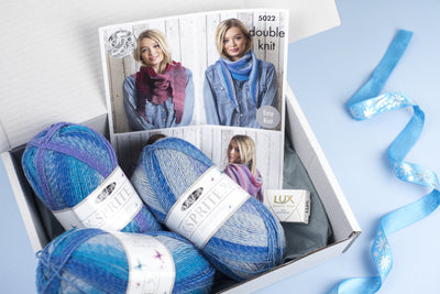 Ladies Knitting Subscription Box KNIT in a BOX