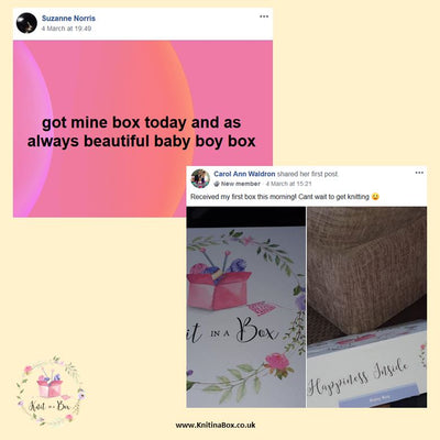 March 2020 Baby-Boy Box On Sale Now! Buy Today Whilst Stocks Last! Knit in a Box