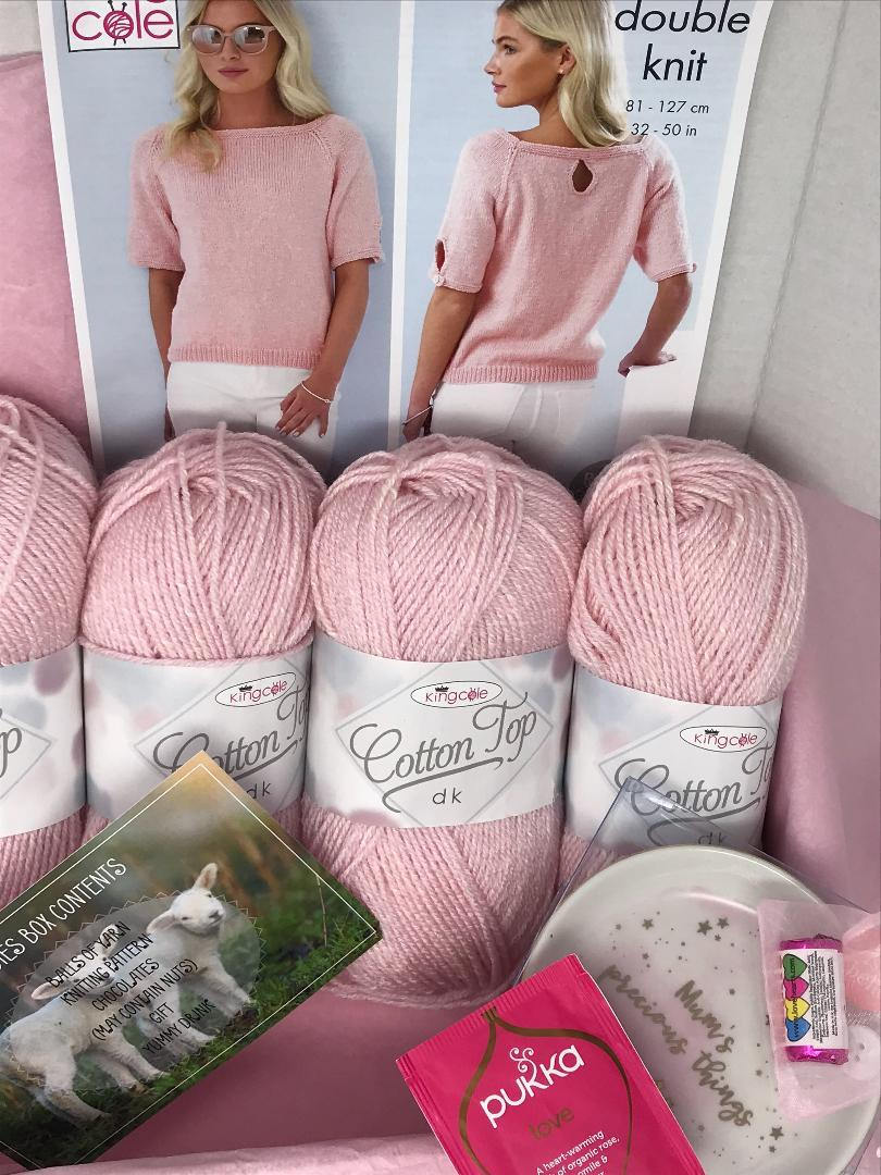 March Box 2019 Ladies Box On Sale Now! Buy Today Whilst Stock Lasts! Knit in a Box