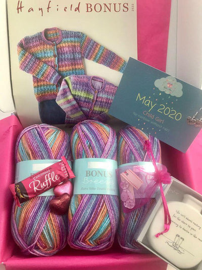 May 2020 Children-Girl Box On Sale Now! Buy Today Whilst Stocks Last! Knit in a Box