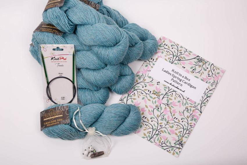 NEW! Even Bigger, Even Better Ladies Knitting Box- Delivered to you in May! Knit in a Box