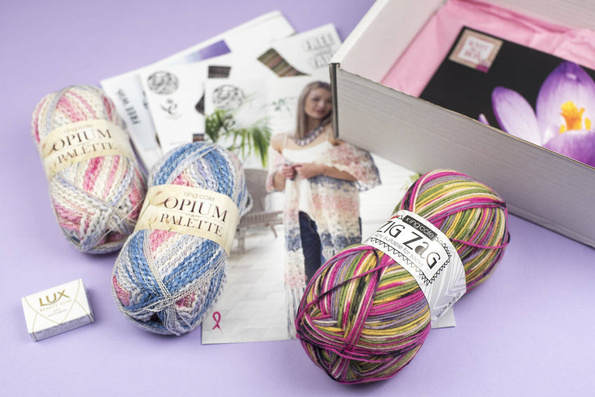 New! Ladies Knitting Subscription Box (Bi-Monthly) KNIT in a BOX