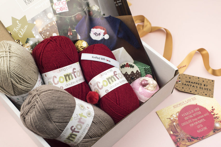 November 2018 Baby Box On Sale Now! Buy Today Whilst Stocks Last! Knit in a Box