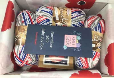 November 2019 Baby Box On Sale Now! Buy Today Whilst Stocks Last! Knit in a Box
