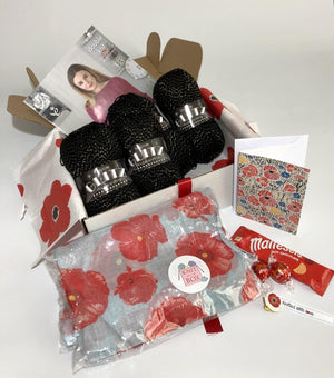 October 2018 Ladies Box On Sale Now! Buy Today Whilst Stock Lasts! Knit in a Box