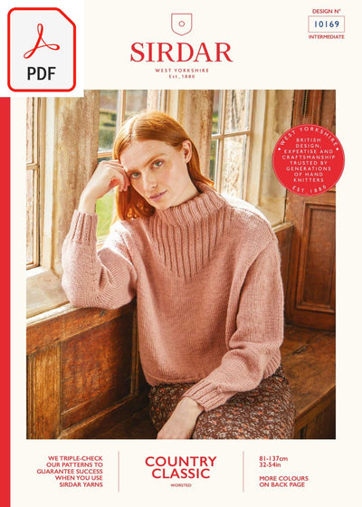 Sirdar 10169 Country Classic Worsted (PDF) Knit in a Box
