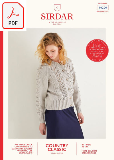 Sirdar 10200 Country Classic DK (PDF) Knit in a Box
