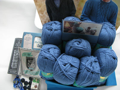 Special Edition Men Knitting Box- Buy Today Whilst Stocks Last!! Knit in a Box