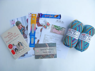 Special Edition Sock Box - Buy Today Whilst Stocks Last!! Knit in a Box