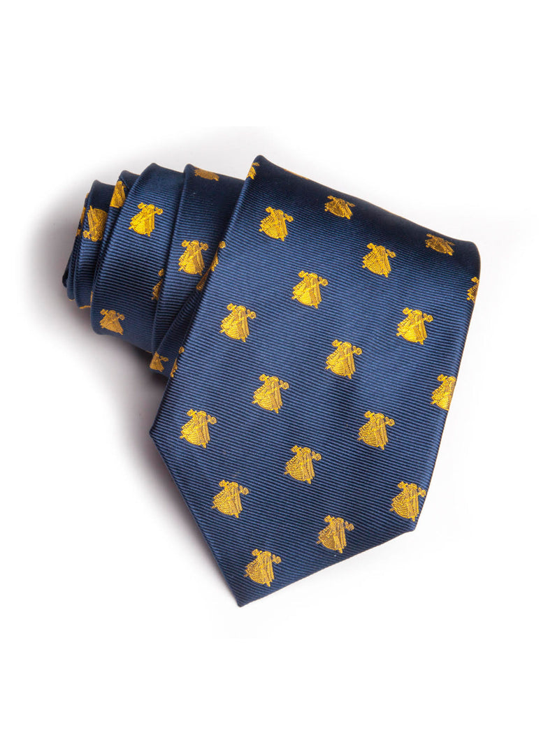 Blue Tie Yellow Capotes