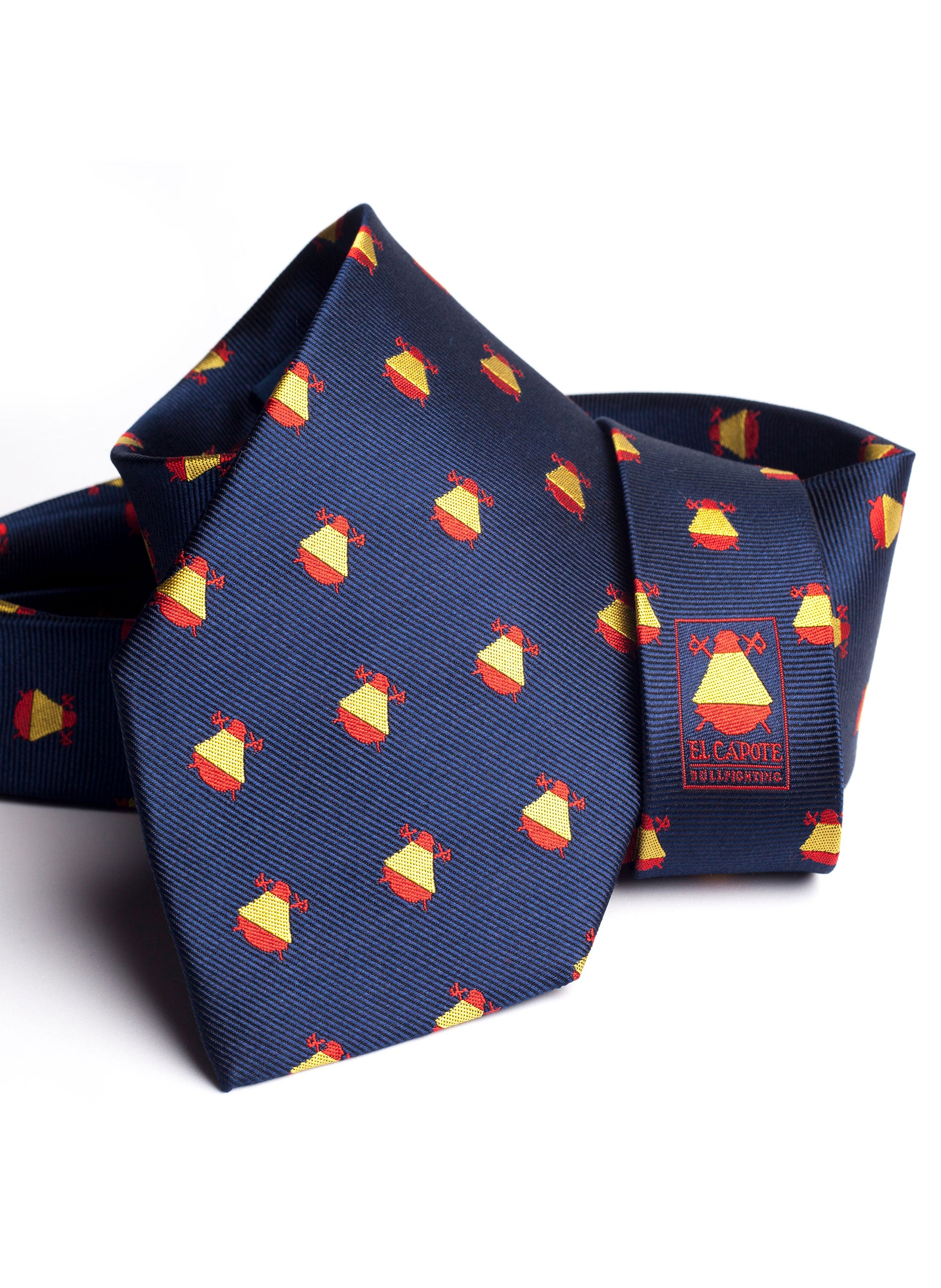 NAVY BLUE TIE SPAIN