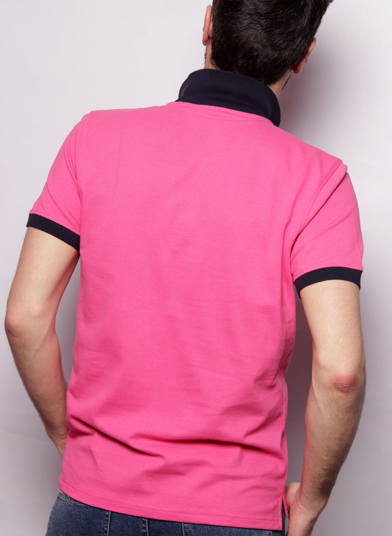 POLO HOMBRE SOMMER ROSA CAPOTE