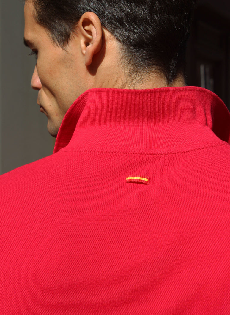 ROTES KLASSISCHES POLO
