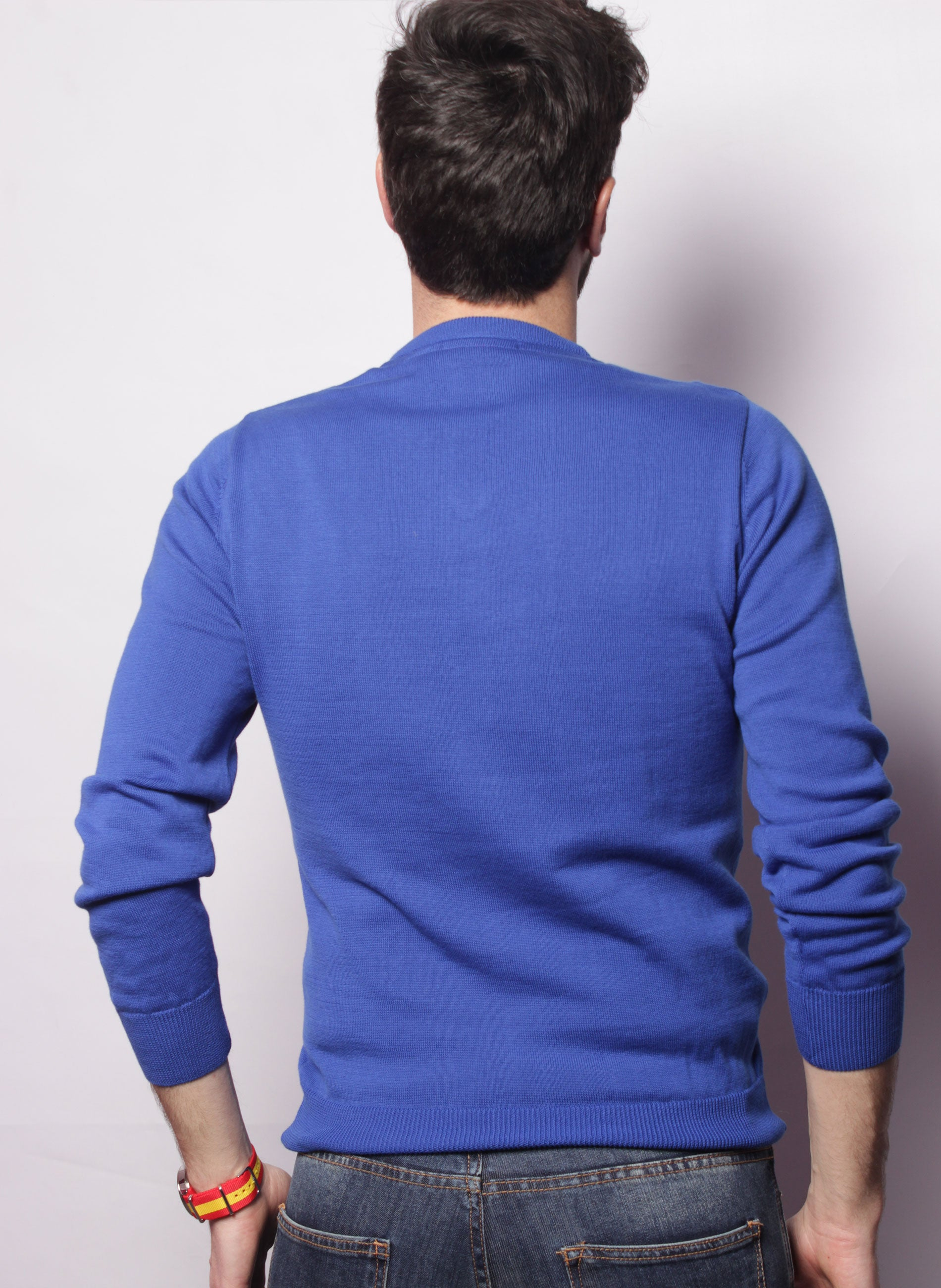 BLAUWE JERSEY ROYAL