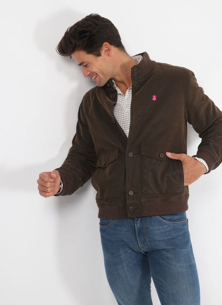 Brown Men's Jacket