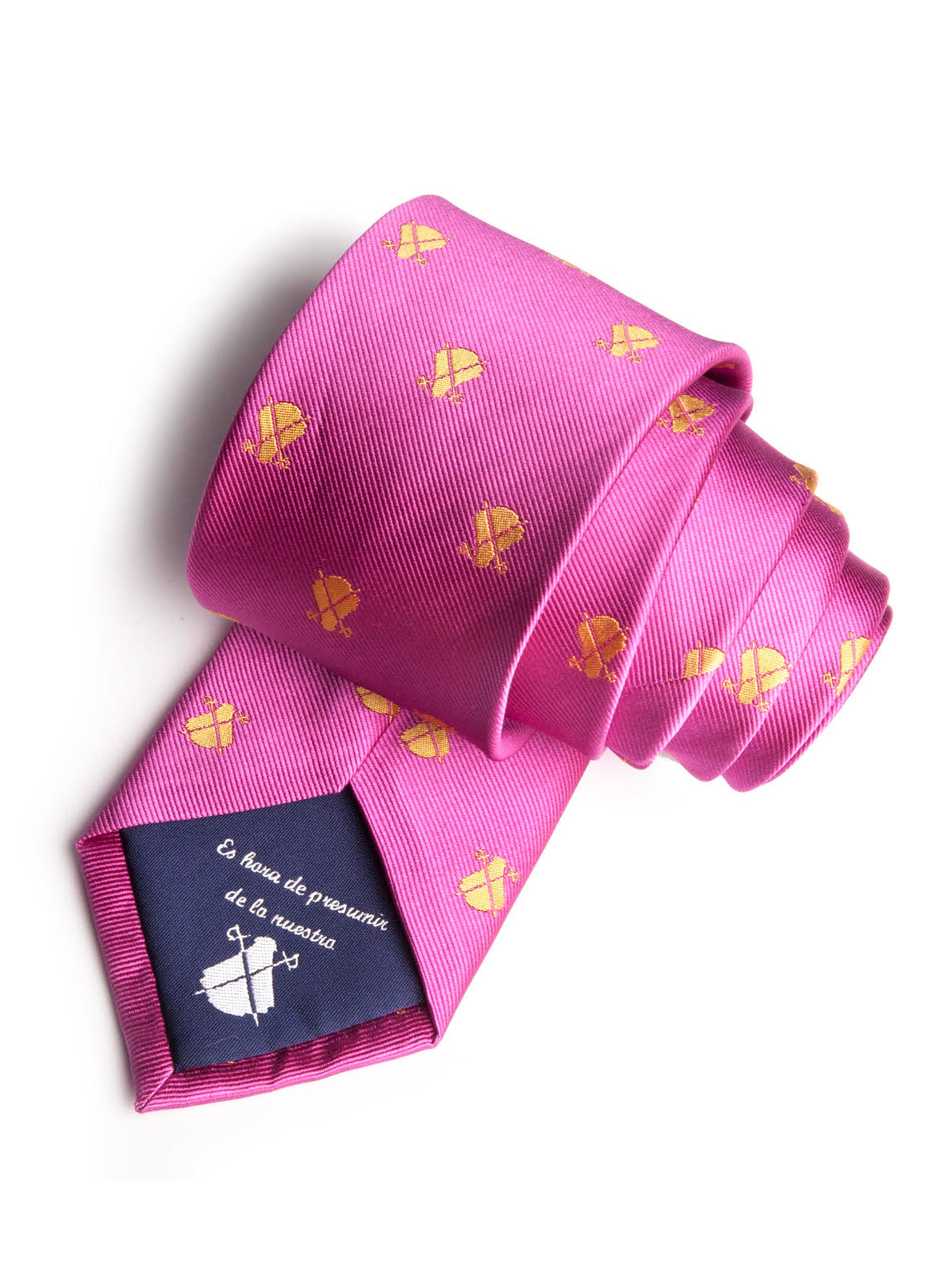 ROZE HALSBAND CAPOTE GEEL LOGOS